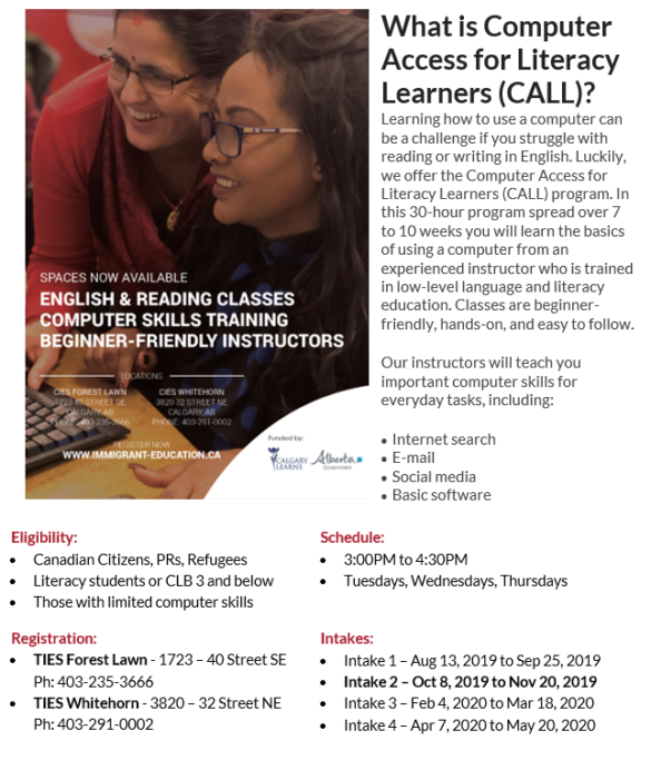 What is Computer Access for Literacy Learners (CALL)?